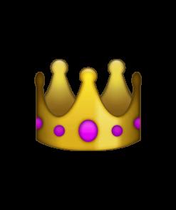 gouden kroon icoon transparant