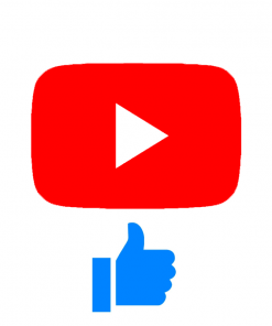 Youtube icoon likes