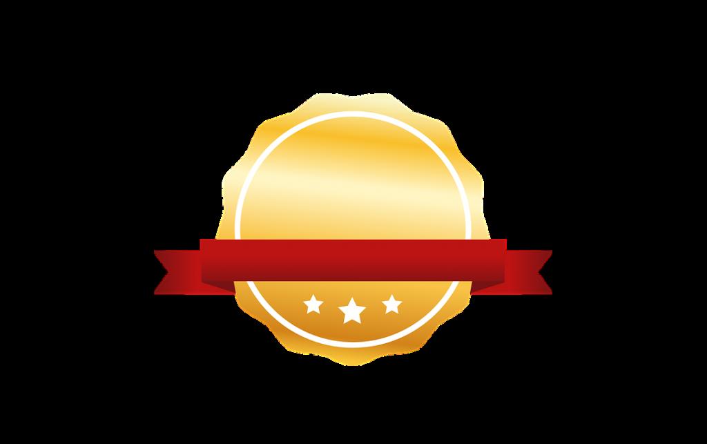 Uitstekende kwaliteits badge