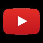 YouTube logo transparant